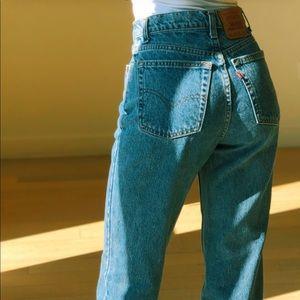 Vintage Levi's 512 Mom Jeans
